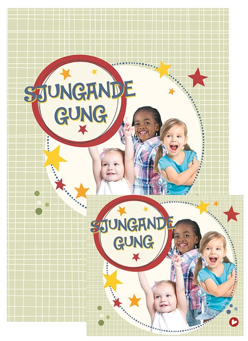 Sjungande gung - Noter+CD - Paket